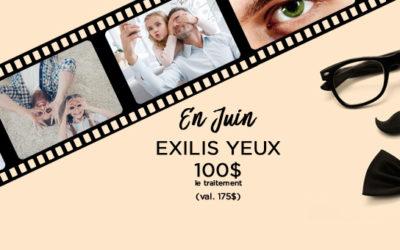 Exilis Yeux en promotion