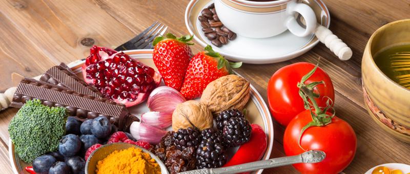 Les bénéfices d'une alimentation riche en antioxydants pour la peau